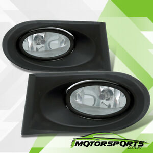 2002 2003 2004 Acura RSX Clear Lens Front Fog Lights Driving Lamps Pair $32.96