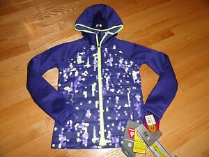 Under Armour Youth Girls Magzip Storm Hoodie Jacket YSM 7 8 Years NWT $119.99