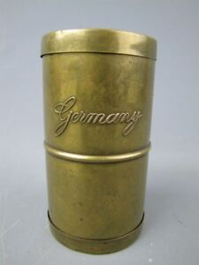 Vintage Brass Watch Parts Cleaner Tumbler Germany