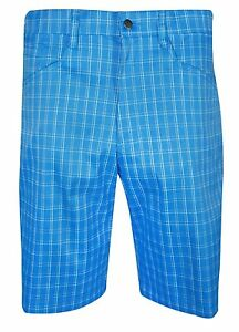 New Callaway Golf- Mens Micro-Plaid Printed Technical Short CGBS7011 Size 36
