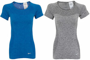 Nike Dri-FIT Knit Womens Running Short Sleeve TopT-shirt ALL SIZES AND COLOURS