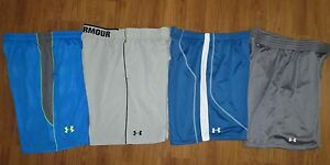 Lot 4 Pair Men's UNDER ARMOUR Mirage Flex Double Loose Athletic Shorts size XL