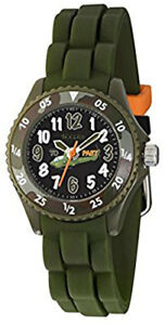Tikkers Childrens Camouflage Helicopter Resin Strap Watch  NTK0010-TNP