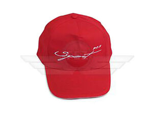 MZMuZ Red Baseball cap with the Lettering