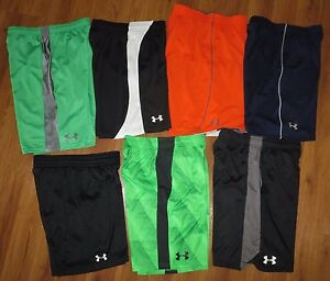 Lot 7 Boy's UNDER ARMOUR Loose Tech Eliminator Athletic Shorts YLG Large 1416