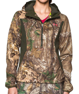 Under Armour Women's Scent Control Early Season Speed Freak Hoodie Real Tree L