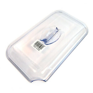 NEW Dalebrook TC501L Clear SAN Food Display Cover For 1/4 Size Azteca