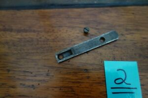 Winchester 1873 2nd Model Vintage Top Mortise Cover Rail With Screw RARE Nice!