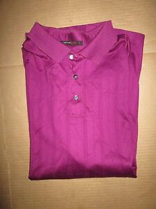 Mens NIKE FIT DRY TIGER WOODS athletic collared golf shirt XL polo