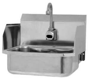 Hand Sink16 In. L15-14 In. W13 In. H SANI-LAV ES2-607L