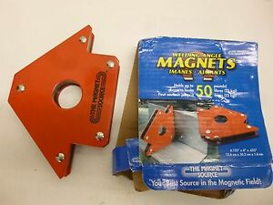 NEW WELDING ANGLE MAGNETS WMA50 $6.99