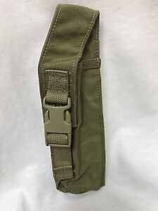 Eagle Industries MLCS Pop Flare UP Pouch Tan Buckle Navy SEAL MOLLE NSW 1000D