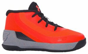 Under Armour Curry 3 Boys' Toddler Bolt OrangeGraphiteBlack 6276-810