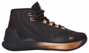 Under Armour Curry 3 - Boys' Grade School BlackSilverCopper 3608-001