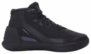 Under Armour Curry 3 - Boys' Preschool BlackBlackBlack 6275-001