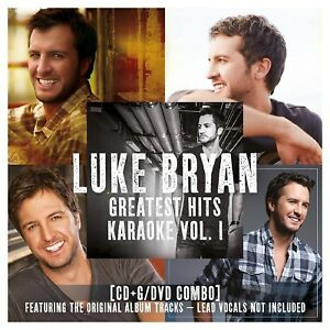 Greatest Hits Karaoke, Vol. 1 by Luke Bryan (CD, 2016, 2 Discs, Capitol) NEW