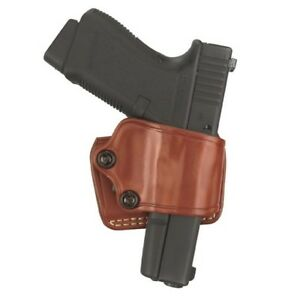 Gould & Goodrich 801-195LH Brown LH Yaqui Slide Holster For Most 1911