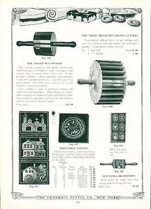 Catalog Page Ad Pettee Co Cake Molds Cutters Rollers Soda Fountain Supply 1922