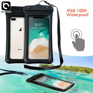 8L Waterproof Dry Bag+Floating Phone Case Pouch for Beach Kayak
