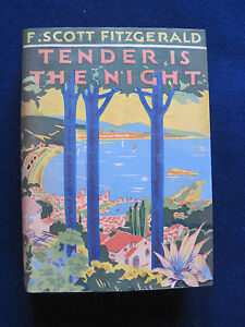 TENDER IS THE NIGHT - SIGNED by F. SCOTT FITZGERALD to Co-Screenwriter 1st Ed.