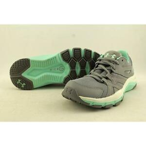 Under Armour Strive 6 Women US 6 Gray Walking Shoe Pre Owned  1087