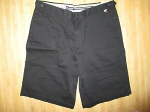 NEW* Ashworth Golf Co MENS 34 WALKING SHORTS BLACK $65 Retail