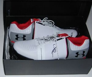 JORDAN SPIETH signed (UNDER ARMOUR) SPIETH ONE 1 autographed GOLF SHOES WCOA