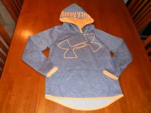 Under Armour Storm girls hoodie size Y M youth Medium MINT athletic sweat shirt