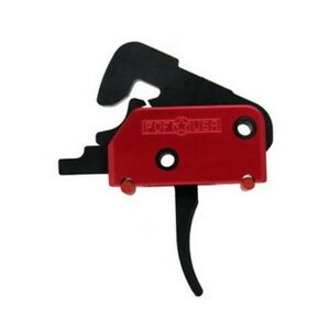 Patriot Ordnance 00457 Red Single Stage Drop-In Trigger 4.5lb Pull Weight 223