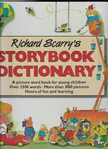 Story Book Dictionary by Scarry, Richard Hardback Book The Fast Free Shipping