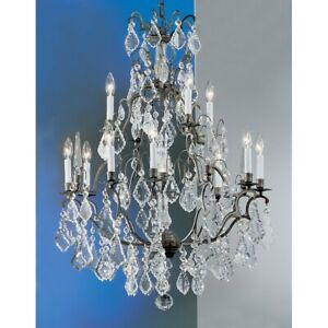 Classic Lighting Versailles 13 Light Chandelier Antique Bronze - 8013AB