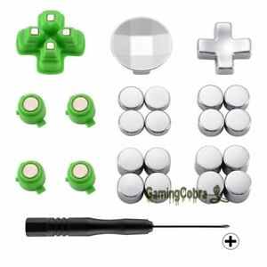 Custom Magnetic Metal Bullet Buttons Adjustable Dpad Kit for PS4 Game Controller