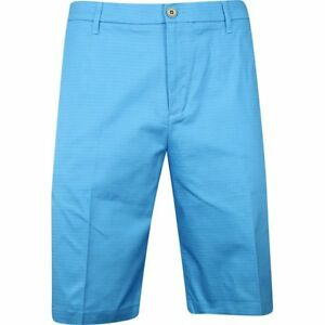 Ashworth Mini Check Marquis Blue Shorts Men