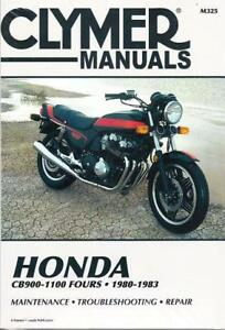 1980-1983 Honda CB900 CB1000 CB1100 Service Repair Workshop Manual Book M325