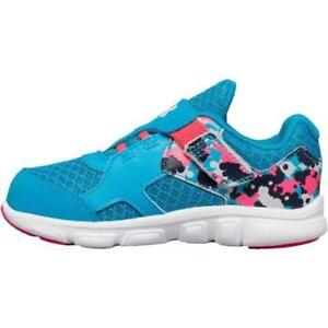 Girl's Toddler UNDER ARMOUR THRILL AC 1258777 Blue+Multi SneakersShoes New