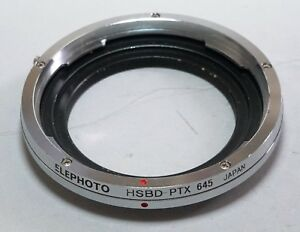 Japan ELEPHOTO Hasselblad V Mount Lens to Pentax 645D 645Z Camera Adapter