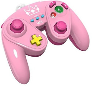 PDP Wired Fight Pad for Wii U - Peach Officially licensed by Nintendo