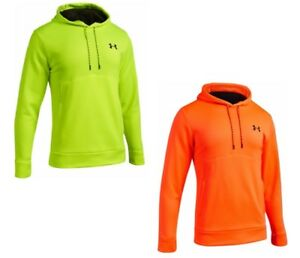 Under Armour 1312374 Men's Public Safety Hi-Vis Long Sleeve Hoodie - Size XS-5X