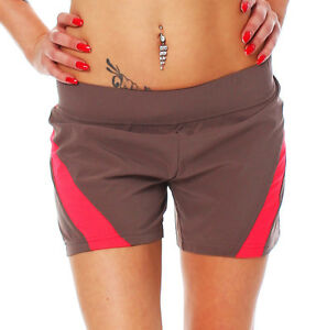 ADIDAS ADILIBRIA Shorts Running Fitness Women's Brown Size 34-44 New e83038