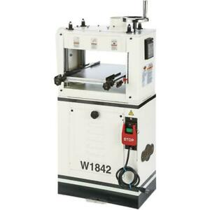Shop Fox W1842 13-Inch 220V Single-Phase 1.5 HP Planer Moulder