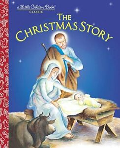 Lgb:Christmas Story Little Golden Book by Jane Werner Watson Hardback Book The