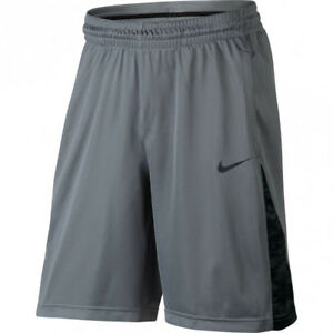 NWT NIKE 868935 065 MEN'S DRI FIT 3 POINT TENNIS RUNNING GREYBLACL SHORTS $35