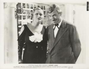quot;HANDY ANDYquot; ORIGINAL PHOTO WILL ROGERS MARY CARLISLE $6.99