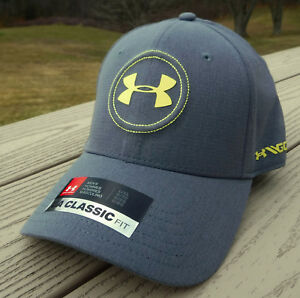 NWT UNDER ARMOUR HeatGear Jordan Spieth Tour Flex Fit Mens Golf Hat-ML $30