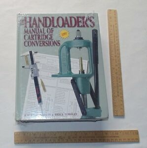 The HANDLOADER'S MANUAL Of CARTRIDGE CONVERSIONS - illustrated hb BOOK - no. 2