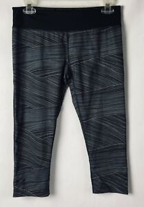 Under Armour Women's Heat Gear Cropped Running Track Pant Size M EC