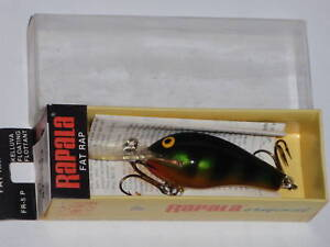Rapala FR 5 Gold Belly Perch Fat Rap Old Stock Vintage