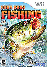 Sega Bass Fishing for Nintendo Wii WII Sports Video Game