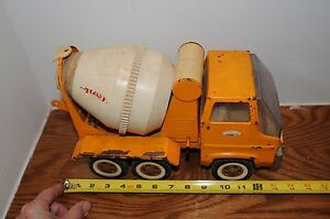 1960's #120 Tonka Cement Mixer Truck in played w condition Construction Equipme