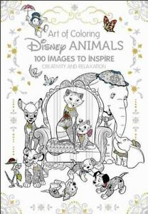Art of Coloring: Disney Animals: 100 Images to Inspire Creativity and Relaxation $14.64